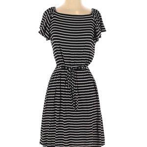 LOFT Ann Taylor Women Midi Dress Petite Sm…